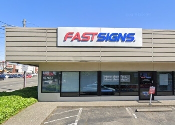 Seattle sign company FASTSIGNS