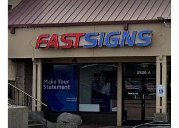 Tacoma sign company FASTSIGNS