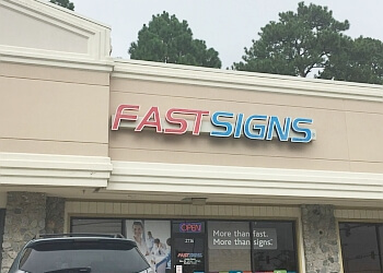 Virginia Beach sign company FASTSIGNS