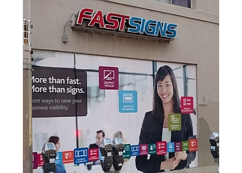 San Francisco sign company FASTSIGNs