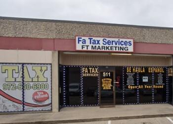 Grand Prairie tax service FA Tax Services, LLC