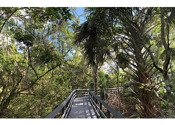 Pompano Beach hiking trail FERN FOREST NATURE CENTER