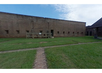 Savannah landmark FORT JAMES JACKSON