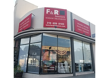 Los Angeles window treatment store F & R Interiors Custom Window Treatments