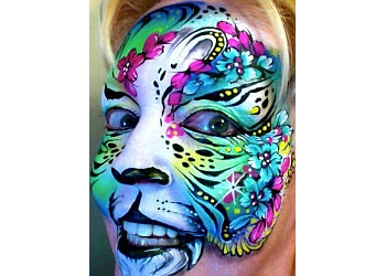 Overland Park face painting Face Fancies Face Painting