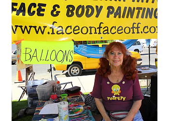 El Paso face painting Face On Face Off