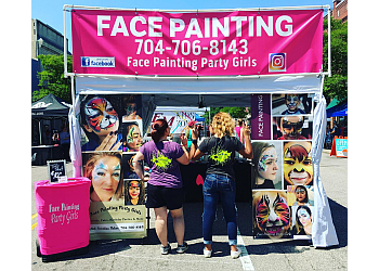 Greensboro face painting Face Painting Party Girls