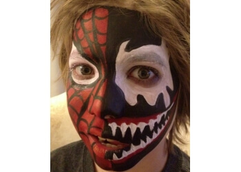 Naperville face painting Face Painting by Valery