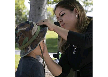 Santa Ana face painting Face Painting by Yadira Alfaro