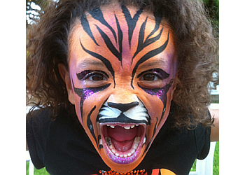 Modesto face painting Face The Design