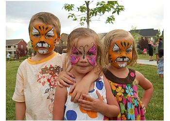 Aurora face painting Facepainting by Elaine