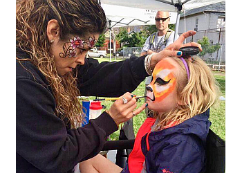 Aurora face painting Faces by Sugar