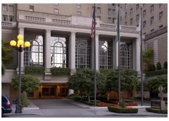 Seattle hotel Fairmont Olymic Hotel