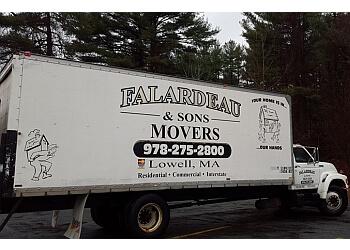 Lowell moving company Falardeau & Sons Movers