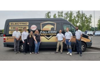 Portland electrician Falcon Electric