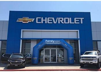 Laredo car dealership FAMILY CHEVROLET