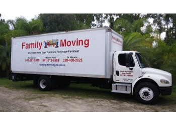 Cape Coral moving company Family Moving LLC
