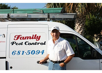 San Antonio pest control company Family Pest Control