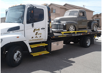 El Paso towing company Family Towing plus