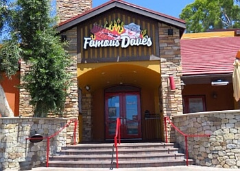 Santa Ana barbecue restaurant Famous Dave's