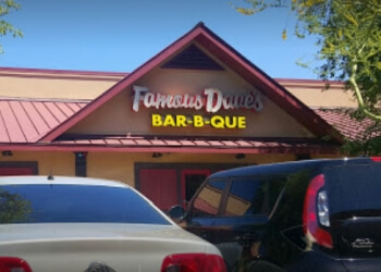 Peoria barbecue restaurant Famous Dave's Bar-B-Que