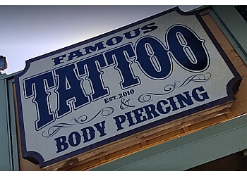 Ventura tattoo shop Famous Tattoo & Body Piercing