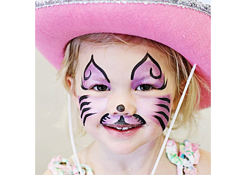 Oklahoma City face painting Fancy Faces