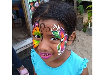 Atlanta face painting Fancy's Face & Body Art