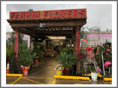 Houston florist Fannin Flowers