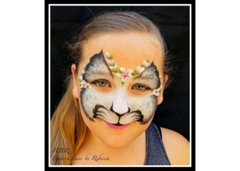 Garden Grove face painting Fantasy Faces by Rebecca