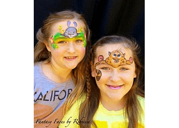 Huntington Beach face painting Fantasy Faces by Rebecca