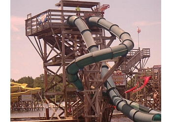 Fayetteville amusement park Fantasy Lake Water Park