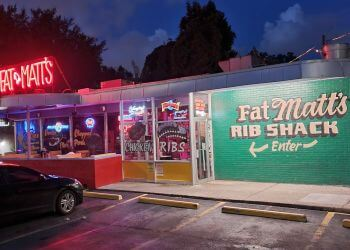 Atlanta barbecue restaurant Fat Matt's Rib Shack
