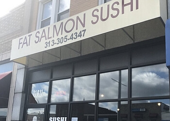Detroit sushi Fat Salmon Sushi