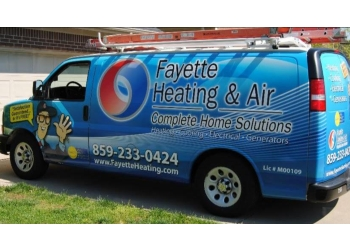 Lexington hvac service Fayette Heating & Air
