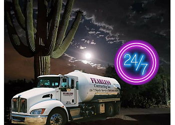 Tucson septic tank service Fear Contracting Inc.