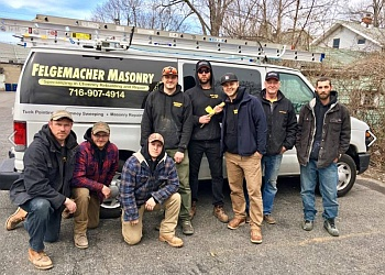 Buffalo chimney sweep Felgemacher Masonry