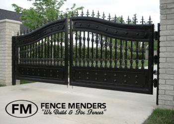 Santa Ana fencing contractor Fence Menders Inc.