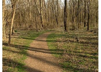 Cincinnati hiking trail Fernbank Park Trail