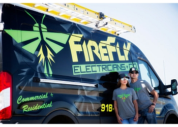 Tulsa electrician Firefly Electricians