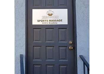 Long Beach massage therapy Firm Hands