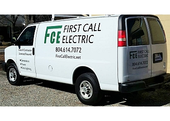 Richmond electrician First Call Electric