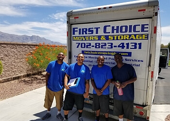North Las Vegas moving company First Choice Moving