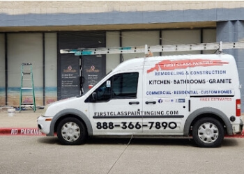 Garland painter First Class Painting & Remodeling, Inc