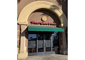 Irvine pizza place First Class Pizza