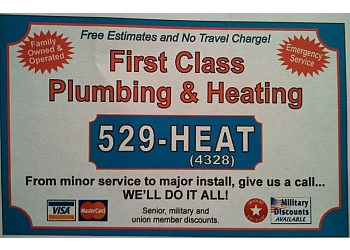 Anchorage plumber First Class Plumbing & Heating, LLC