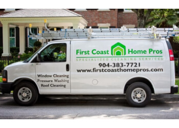 Jacksonville house cleaning service First Coast Home Pros