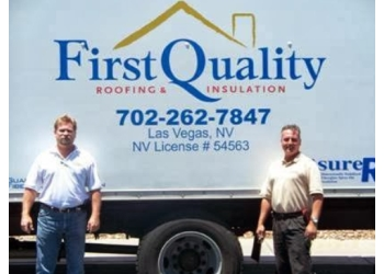 Las Vegas roofing contractor First Quality Roofing & Insulation