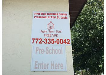 Port St Lucie preschool First Step Learning Center