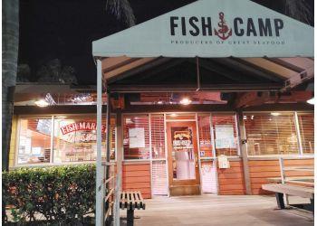 Huntington Beach seafood restaurant Fish Camp
